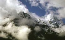In Wolken gebettet by Ulrike Ilse Brück
