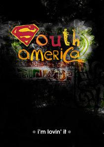 South america von Juan Pablo Dueñas Baez
