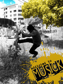 addicted to musick by Meor Shukri
