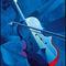 Blue-violin