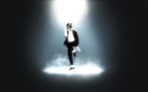 Michael Jackson Digital Painting von Hitesh  Sharma