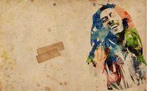 Bob Marley art print von Hitesh  Sharma