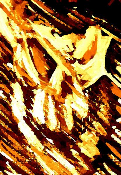 Burning-head