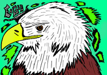 eagle2/2 by michael  arnott