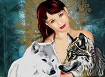 Queen of wolves by mckenna
