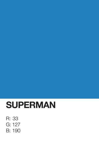 Superman-pantone