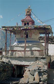 Stupa by littlepeak