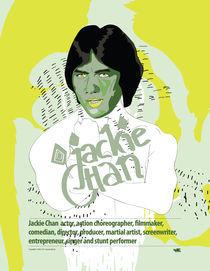 Jackie Chan by Piotr  Wojtaszek