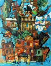 Tree of the Odessa life by Tatiana Popovichenko