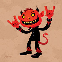 Heavy-metal-devil-print