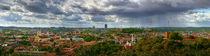 Panorama of Vilnius by Vaidas Bradauskas