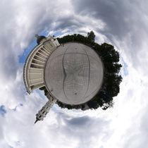 Orbital Panorama of Vilnius by Vaidas Bradauskas