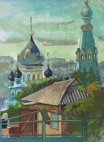 Old cathedral von Tatiana Popovichenko