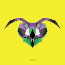 Wild Head / Wasp von Bongo Design