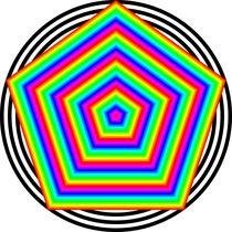 Rainbow-pentagon