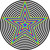 Rainbow-pentagram