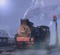 Moon light Mist. by John Blackford