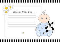 Welcome baby boy von deboracilli