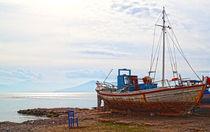 Boot auf griechischer Insel von buellom