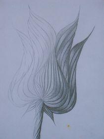 fantasy flower I von Katja Finke