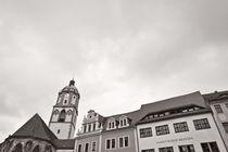 Meißen - Blick vom Marktplatz by Peter Zimolong