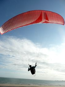 Paragliding by Rees Hope