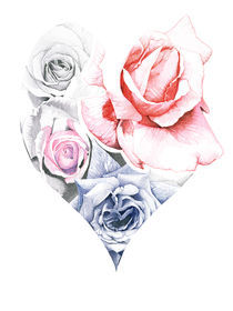 Loveheartartflakes
