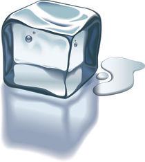 Ice cube by artefy