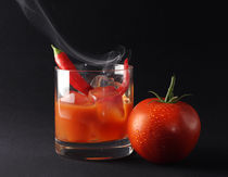 Icy hot tomato drink by artefy