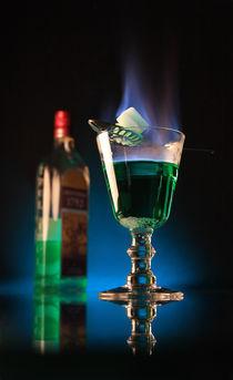 Burning absinthe by artefy
