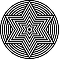 Zebra-hexagram