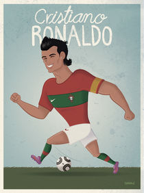 Cristiano Ronaldo by raeioul