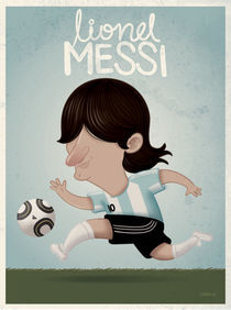 Lionel Messi by raeioul