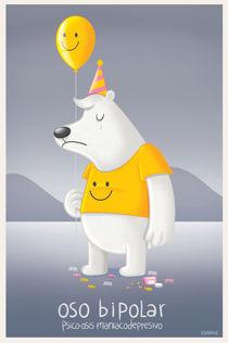 oso bipolar (bipolar bear) by raeioul