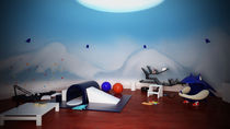 Kids Playroom Snow theme by Kevin Manthe