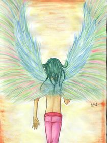 This is my wings by Presinovela Thomas