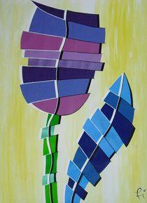 fragments of tulip von Katja Finke