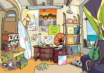 The surfer's room. von Oleksiy Tsuper