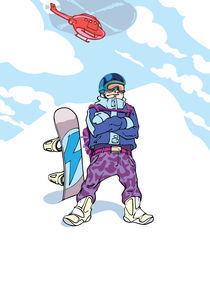 Snowboarder-freerider