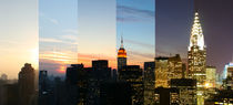 New York City Manhattan Skyline - NYC Time Lapse Photography - Zeitraffer Fotografie - landscape format