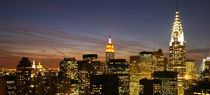 New York - Manhattan Skyline - Dawn / Dämmerung 03 NYC by temponaut