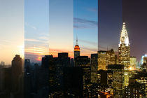 New York - Manhattan Skyline - NYC Time Lapse Photography - Zeitraffer Fotografie by temponaut