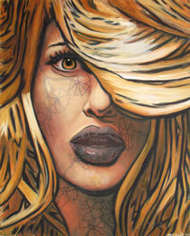 Girl with Tattoos by MJ Ayotte