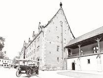 Albrechtsburg Meißen - Burghof by Peter Zimolong