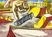 Fingerboarding. von Oleksiy Tsuper