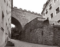 Albrechtsburg Meißen - Burgbrücke I von Peter Zimolong