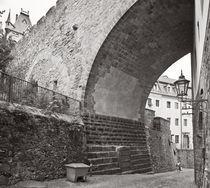 Albrechtsburg Meißen - Burgbrücke II von Peter Zimolong