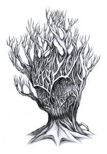 Tree of rage by Lovro  Srebrnic