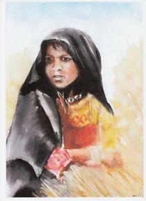 Beduinenmädchen von dunja54
