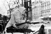 Art student in Paris by Stefano Mattia